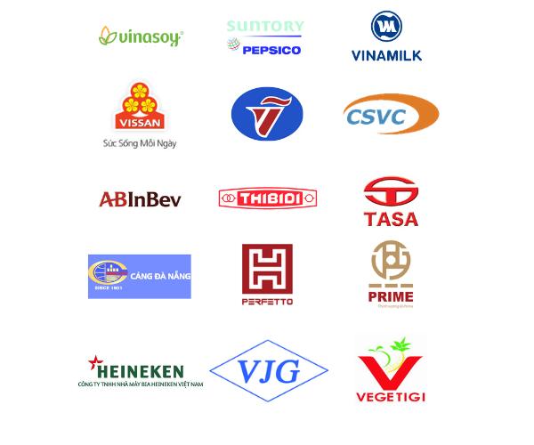 logo khách hàng sử dụng xe nâng