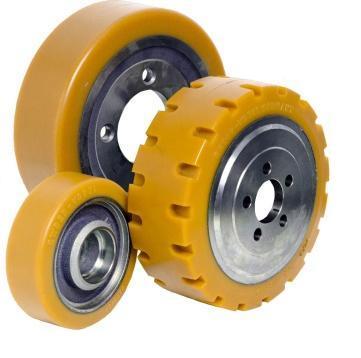 bánh xe nâng điện PU